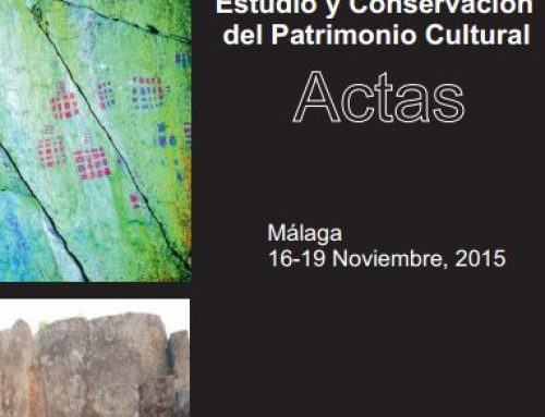 Estudio y Conservación del Patrimonio Cultural. Actas