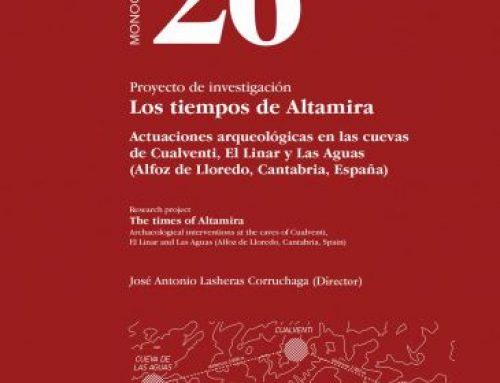 """Proyecto de investigación """"Los tiempos de Altamira"""": actuaciones arqueológicas en las cuevas de Cualventi, El Linar y Las Aguas (Alfoz de Lloredo, Cantabria, España)"""