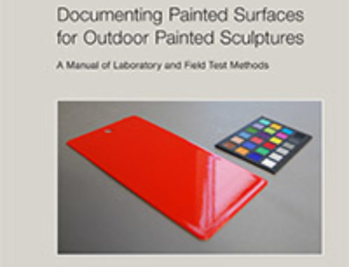 Documenting Painted Surfaces for Outdoor Painted Sculptures