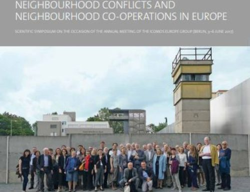 Border areas – encounter areas: Neighborhood conflicts and  neighborhoods co-operations in Europe