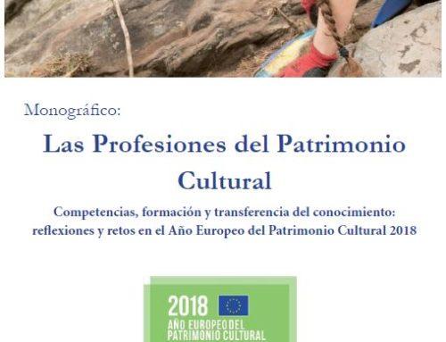 """Monográfico """"Las Profesiones del Patrimonio Cultural"""""""