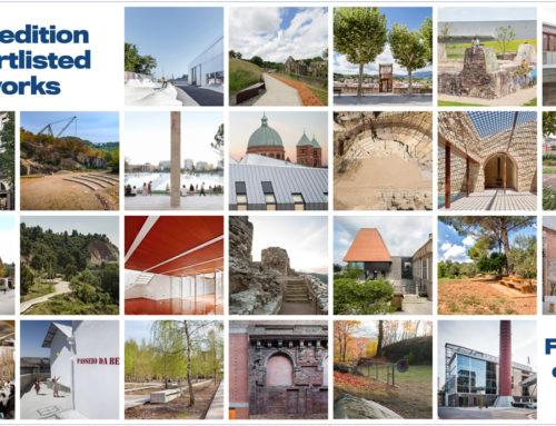 El Premio Europeo de Intervención en el Patrimonio Arquitectónico AADIPA hace públicos los seleccionados de las Categorías A y B de la 4ª Edición del certamen