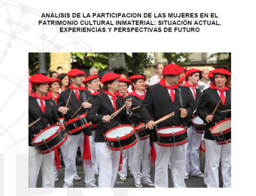 Análisis de la participación de las mujeres en el patrimonio cultural inmaterial: Situación actual, experiencias y perspectivas de futuro