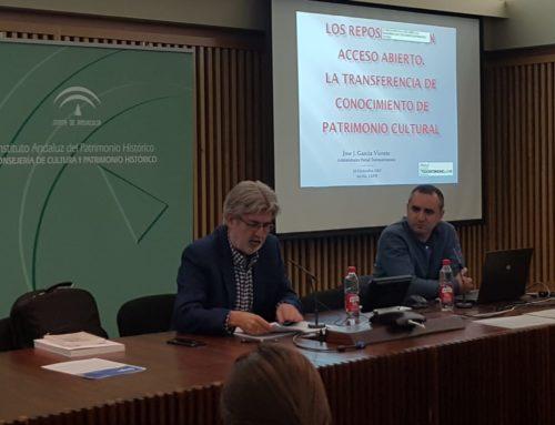 Jornada sobre repositorios en acceso abierto sobre patrimonio en el IAPH