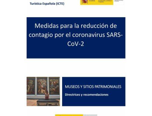 Medidas para la reducción de contagio por el coronavirus SARSCoV-2: Museos y Sitios patrimoniales