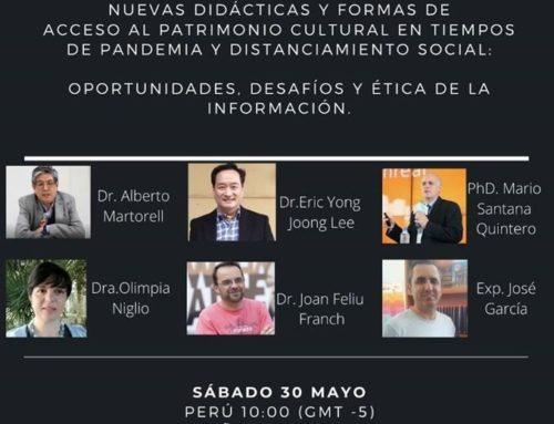 II Conferencia Internacional Online: Nuevas didácticas y formas de acceso al patrimonio cultural en tiempos de pandemia y distanciamiento social