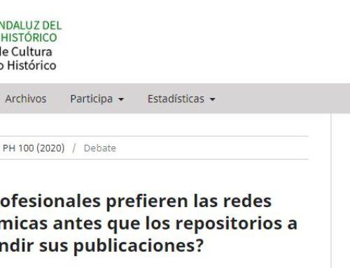 ¿Por qué los profesionales prefieren las redes sociales académicas antes que los repositorios a la hora de difundir sus publicaciones?