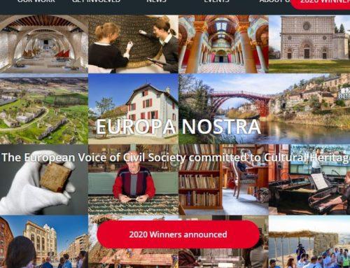 Anunciados los Ganadores de los European Heritage Awards 2020