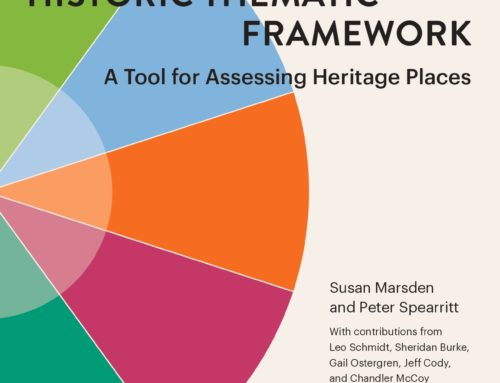 Publication: The Twentieth-Century Historic Thematic Framework: A tool for assessing heritage places
