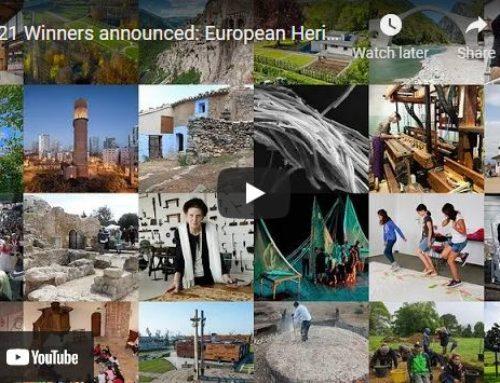 Concedidos los Premios Europa Nostra 2021 a 24 Proyectos